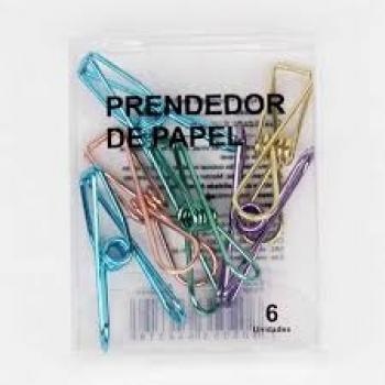 PRENDEDOR CLIPS FERRO SORTIDO SANXIA C/10