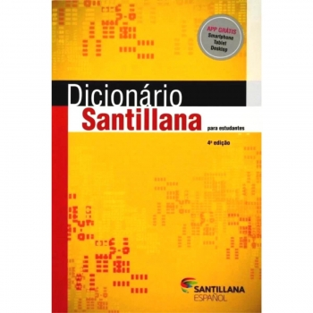 DICIONARIO ESPANHOL SANTILLANA ED.MODERNA