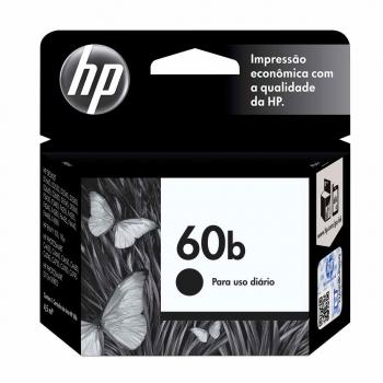 CARTUCHO HP 60B ORIG PRETO  CC636WB