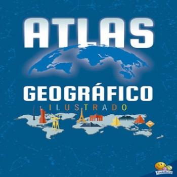LV ATLAS GEOGRAFICO ILUSTRADO ED.TODO LIVRO