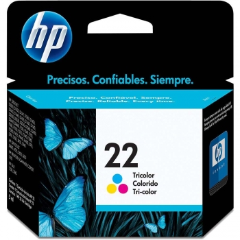 CARTUCHO HP 22 ORIG COLOR 9352AB HP