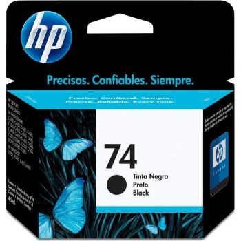 CARTUCHO HP 74 ORIG PRETO  CB335WB