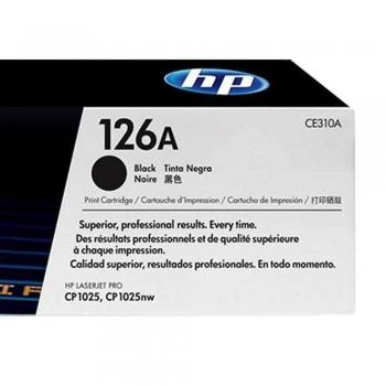 TONER HP ORIG.PRETO 126-A  CE310A