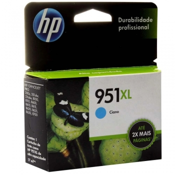 CARTUCHO HP 951XL ORIG CIANO CN046AB
