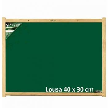 QUADRO LOUSA MADEIRA  40X30 REF.2204 SOUZA