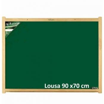QUADRO LOUSA MADEIRA  90X70 REF.2209 SOUZA
