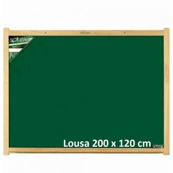 QUADRO LOUSA MADEIRA 200X120 REF.2220 SOUZA