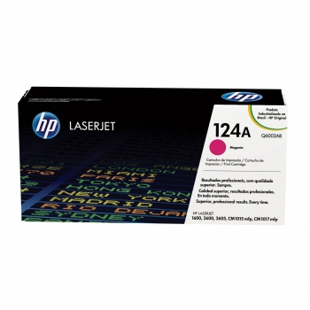 TONER HP ORIG.COLOR 124A Q6003A MAGENTA