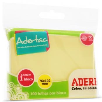 BL.REC.ADES.76X102 ADERTAC 100FLS 200I/S ADERE