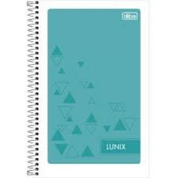 CADERNETA ESP.ANOT.1/8 FLEX LUNIX 96FLS.TILIBRA