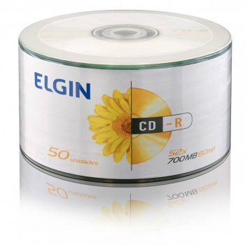 CD-R 700 MB 80 MIN. 52X ELGIN