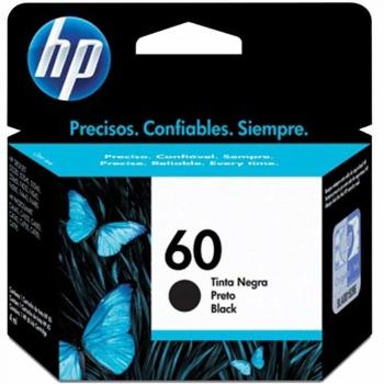 CARTUCHO HP 60 ORIG PRETO  CC640WB