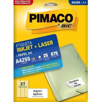 ETIQUETA A4255 INKJET/LASER 25 FLS.(27)