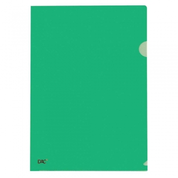 PASTA L PLASTICA A4 R.42PP-VERDE             DAC
