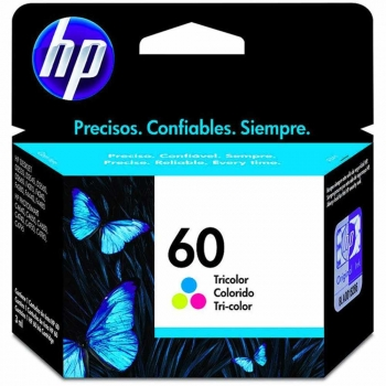 CARTUCHO HP 60 ORIG COLOR CC643WB