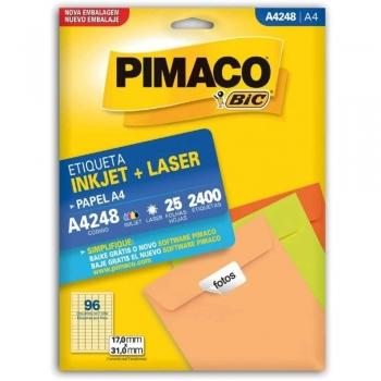 ETIQUETA A4248 INKJET/LASER 25 FLS.(96)