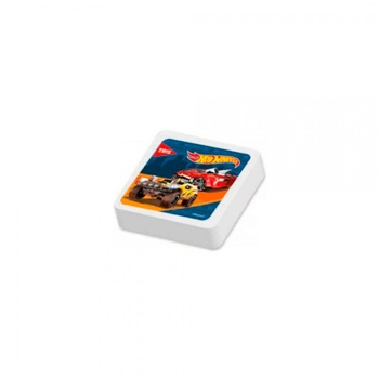 BORRACHA BRANCA HOT WHEELS TOP TRIS